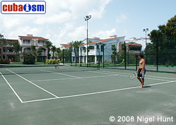 Tennis Court in Hotel Guardalavaca